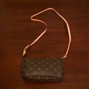 Never Used Small Louis Vuitton Crossbody/Wristlet